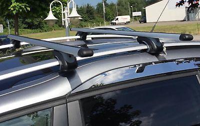 Dachbox 320 Liter Relingträger Alu 320 Liter für Renault Megane SW ab 03 Schloß
