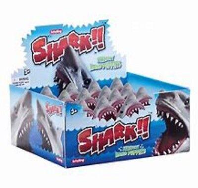 Stretchy Shark Hand Puppet - Sc-Shp Soft Glove Fish Head Swim Baby Water Horror 2