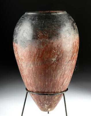 Egyptian Predynastic Pottery Black Top Jar, ex-Bonhams Lot 1
