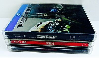 25 STEELBOOK Box Protectors  Protective Sleeves  Clear Plastic Cases / Covers G2 7