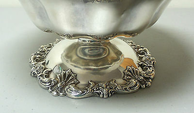 """Gorgeous American Redlich & Co Sterling Silver Large 10.5"""" Compote / Centerpiece 7"""