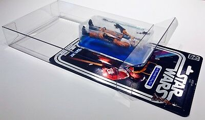 1 Clear Protector For CELEBRATION LUKE X-WING STAR WARS 40TH Display Case Box 2
