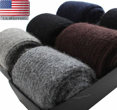 New Mens Wool Cashmere Warm & Comfortable & Pure Winter Thick Socks One Pair