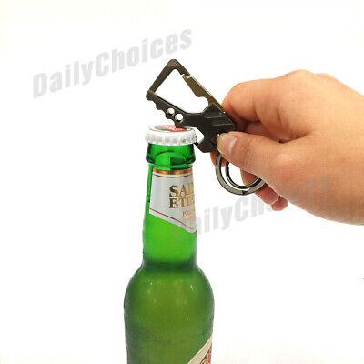 Stylish Metal Car Key Rings Alloy Chain Heavy Duty Gift Keyring Keychain Holder 5