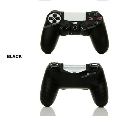 Soft Silicone Cover Skin Rubber Grip Case for Sony Playstation 4 PS4 Controller 8