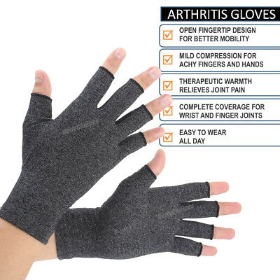 Arthritis Gloves Compression Joint Finger Pain Relief Hand Wrist Support Brace 5