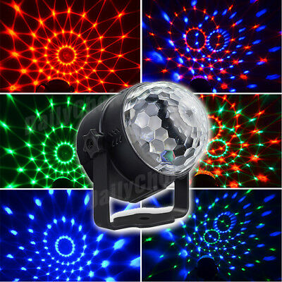 USB RGB LED Disco Ball DJ Party Light Effect Strobe Remote Sound Activated Auto 5