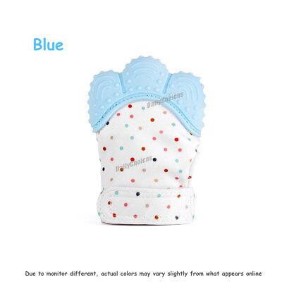 Silicone Baby Teether Teething Mitt Mitten Glove Safe BPA Free Chew Dummy Toy AU 10