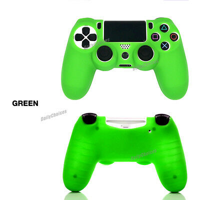 Soft Silicone Cover Skin Rubber Grip Case for Sony Playstation 4 PS4 Controller 6