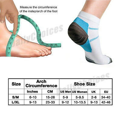 Plantar Fasciitis Foot Pain Relief Sleeves Heel Ankle Sox Compression Socks 7