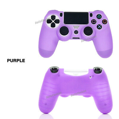 Soft Silicone Cover Skin Rubber Grip Case for Sony Playstation 4 PS4 Controller 5