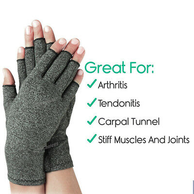 Arthritis Gloves Compression Joint Finger Pain Relief Hand Wrist Support Brace 7
