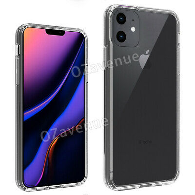 【Airbag Shockproof】iPhone 11/Pro/Max Clear Case Bumper Slim Cover Silicone TPU 7