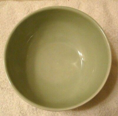 """2pc Varages Luberon Pale Green Cereal Soup Salad Bowls 6-1/4"""" made in FRANCE 3"""
