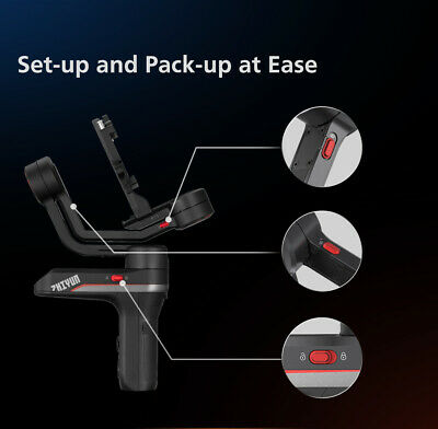 ZHIYUN WEEBILL S 3-Axis Gimbal Handheld Stabilizer For DSLR & Mirrorless Cameras 10