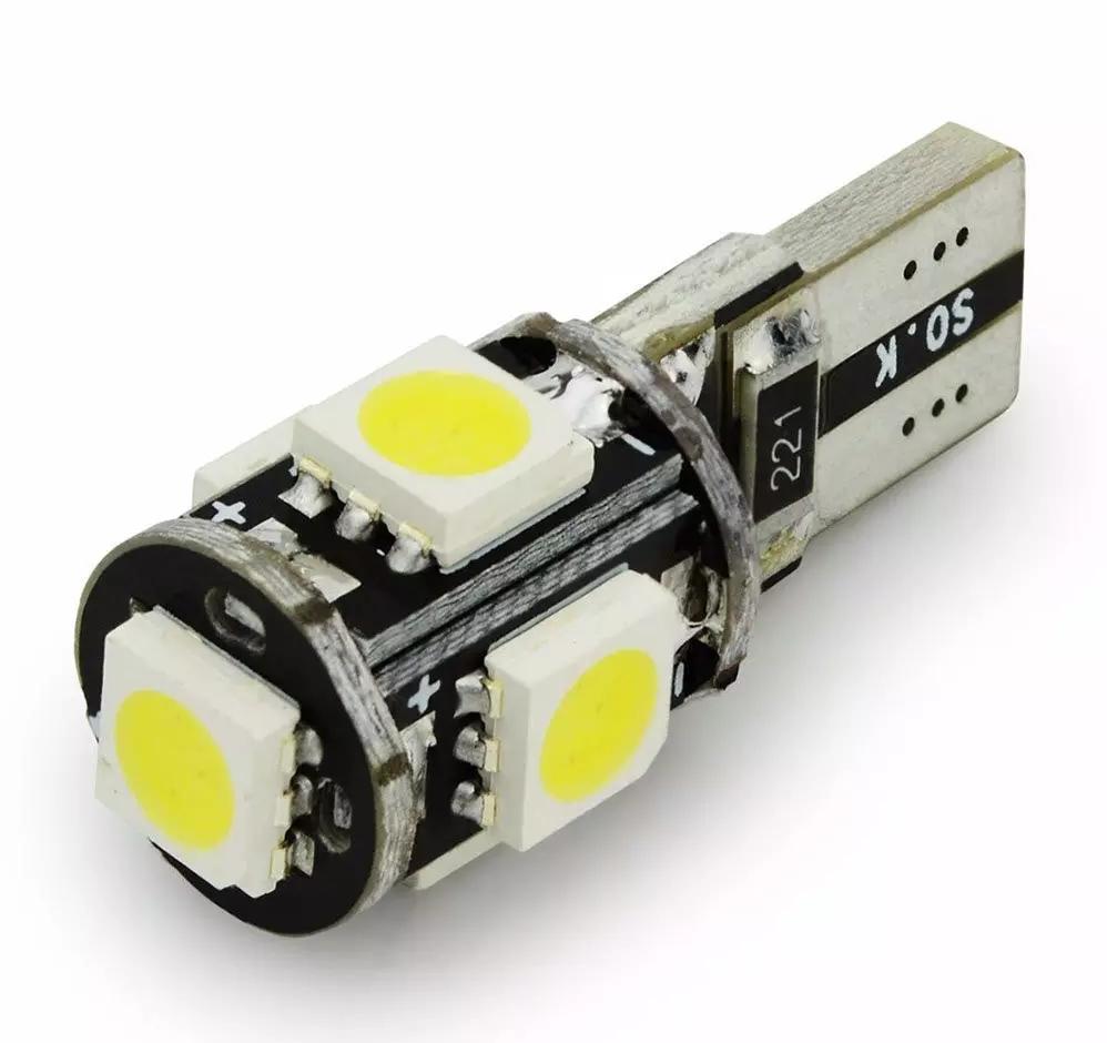 4x Canbus LED Error Free T10 6000k HID White W5W Bulbs Side Parking Lights 12V 7