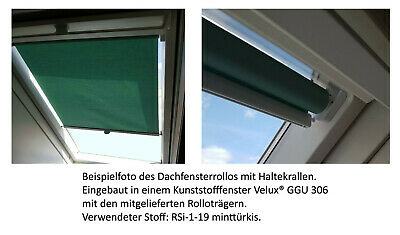günstige Rollos für Braas® Delta Atelier Dachfenster Sichtschutz Blickschutz