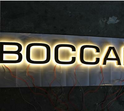 Custom size frontlit stainless steel Sign,Neon Signs,Channel letter led sign 6