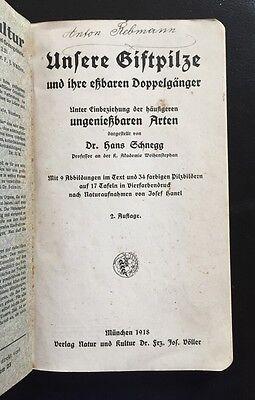 Hans Schnegg - Unsere Giftpilze und ihre eßbaren Doppelgänger
