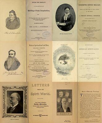 300 Rare Books On Spirits, Medium, Séances, Communication With The Dead On Dvd 8