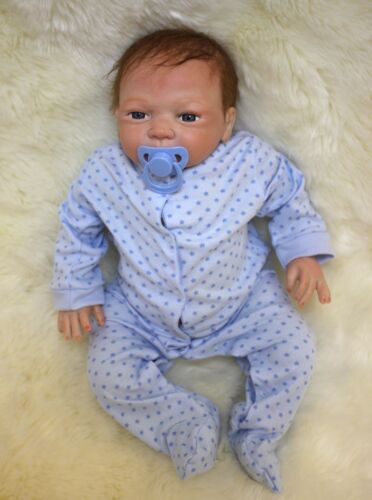 "20"" Full Body Realistic Reborn Dolls Lifelike Baby Boy Newborn Doll Gifts 4"