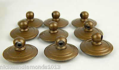 Antique Maddon Table Company Drawer Pulls / Knobs W/ Hardware Sack & Tag 2 • CAD $37.79