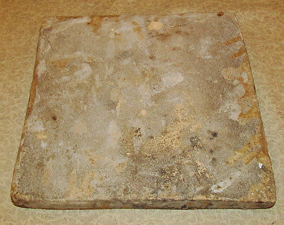 Antique Oriental Persian Middle Eastern Tile with Floral Motif 5