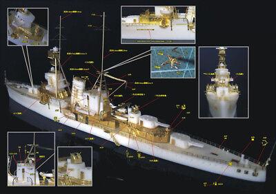 EV resin kit 1//700 Republic of China Navy cruiser Ping Hai Ning Hai class