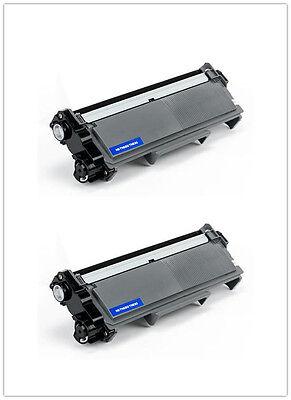 2PK Toner for Brother TN660 HL-L2340DW HL-L2360DW HLL2380DW MFCL2680W MFCL2740DW 2
