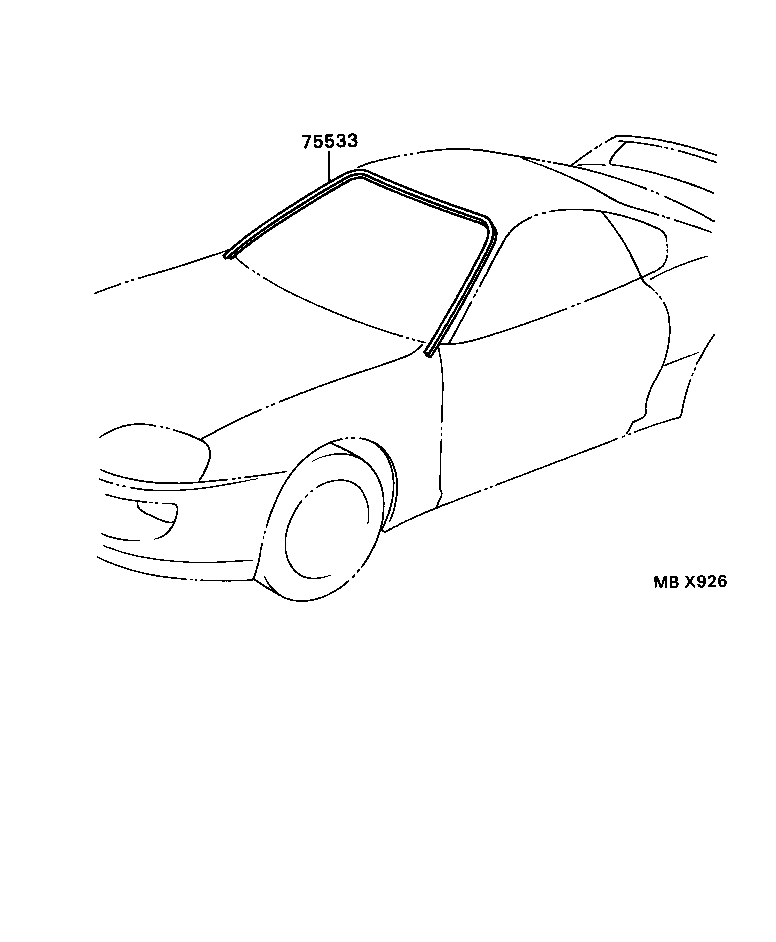 New Oem Toyota 93 98 Supra