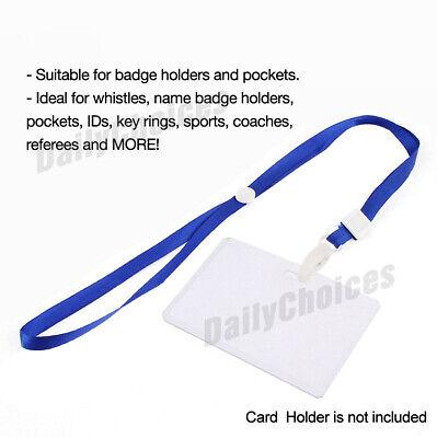20 Neck Strap Lanyard Multi Colour Safety ID Card Name Badge Holder Neck Strap 3