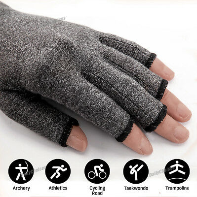 Arthritis Gloves Compression Joint Finger Pain Relief Hand Wrist Support Brace 3