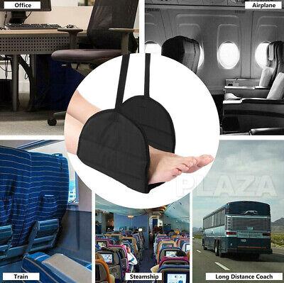 Travel Foot Rest Footrest Leg Pillow Flight Memory Foam Cushion Hammock 11