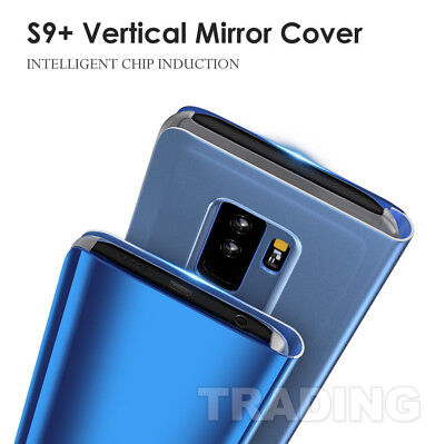 Slim Cover Luxury Mirror Flip Case for Samsung Galaxy S10 S9 Plus S8 S8+ Note 8 11