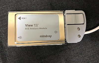 Datascope Mindray 12 View ECG Analysis Module 9293-029-51 Convert to 12-Leads 2
