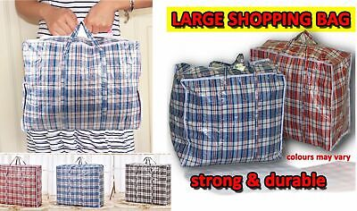 Laundry Shopping or Storage Bag Strong Check Reusable Size Small Medium or Large