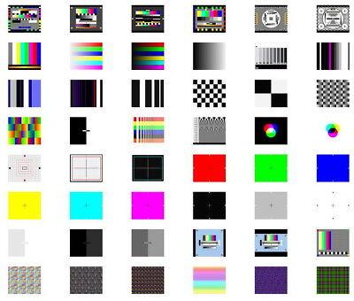TV Test Card / Video Pattern Generator & Test Tones DVD: AV Systems PAL &  NTSC 3