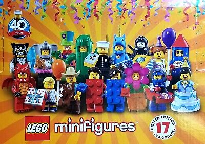 LEGO #71021 LEGO® Minifigures Series 18 NEW//SEALED Pick the one you need