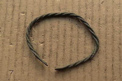 Fine Viking Twisted Bracelet 9-10th AD Kievan Rus 8