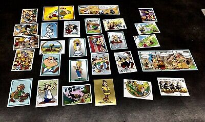 Stickers Panini Asterix Carrefour 2019 Lot de 10 cartes au choix Autocollant 60a 9