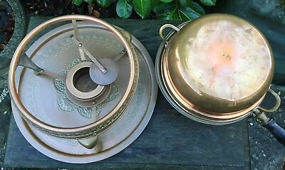 Old Vintage Middle Eastern Persian Islamic Darius Tin Lined Copper Cooking Set 8