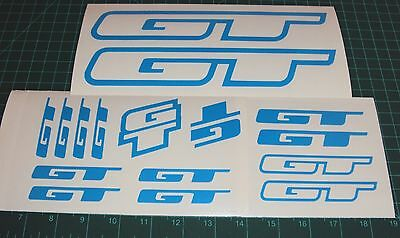 GT Bike Decals Stickers Set 16 Downhill MTB DH Cycle Fury Ruckus XC AM Rad