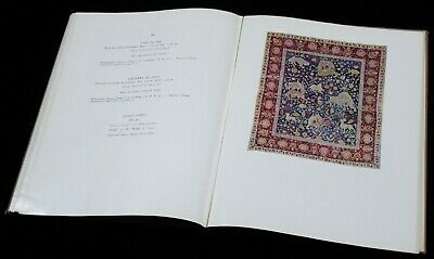BOOK Islamic Art from World Collections 1956 ceramics textiles painting French 10