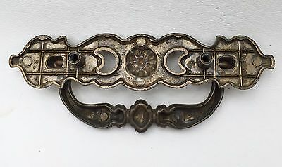 """Antique Hardware Brass Chippendale French Prov. Vintage Drawer Pull 2.5""""center 9"""