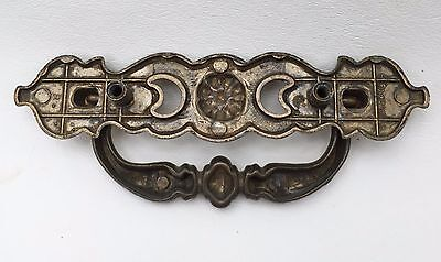 "Antique Hardware vintage Chippendale French Provincial Drawer Pull 2.5""center 9"