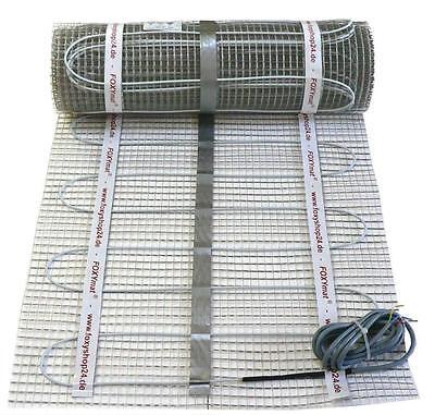 elektrische Fußbodenheizung 90/160/200 W/m² mit Regler AEG FTD 720 / 1 bis 20 m²