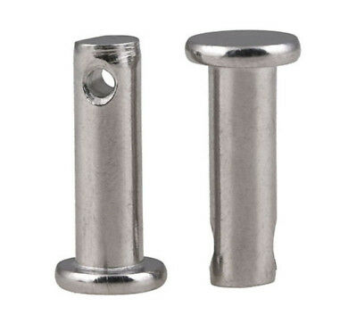 M6 M8 M10 304 Stainless Steel Flat head Cotter-Pin / Clevis Pins with Head