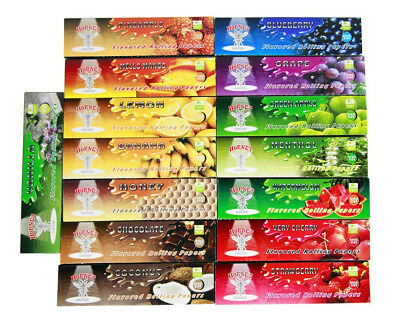 Flavoured Rolling Papers Kingsize Cigarette Roll Paper Very Cherry Menthol UK 3