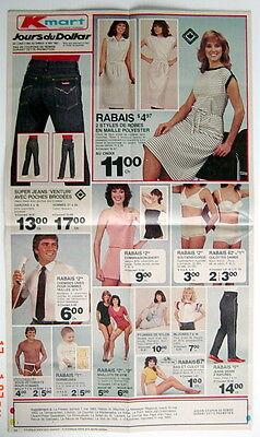 Ancienne Grande Circulaire De 1983 Des Magasins K-Mart, 8 Pages 2