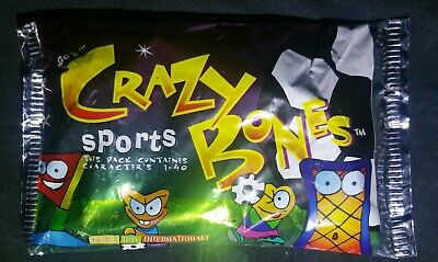 Crazy Bones lot-THINGS-SPORTS /& MUTANTS-ALL 3 Factory sealed packs-FREE SHIP 3X